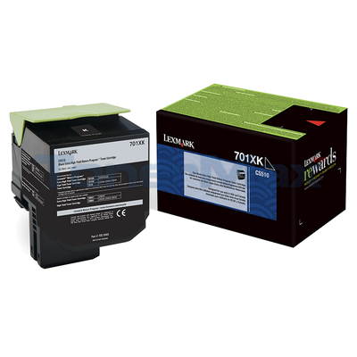 LEXMARK CS510 RP TONER CARTRIDGE BLACK 8K